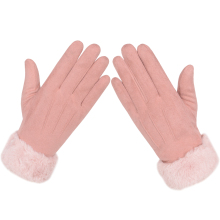Women Winter Warm  Gloves Touchscreen Gloves for Women  Elegant Ladies Winter Gloves Windproof Gloves Full Finger for Females