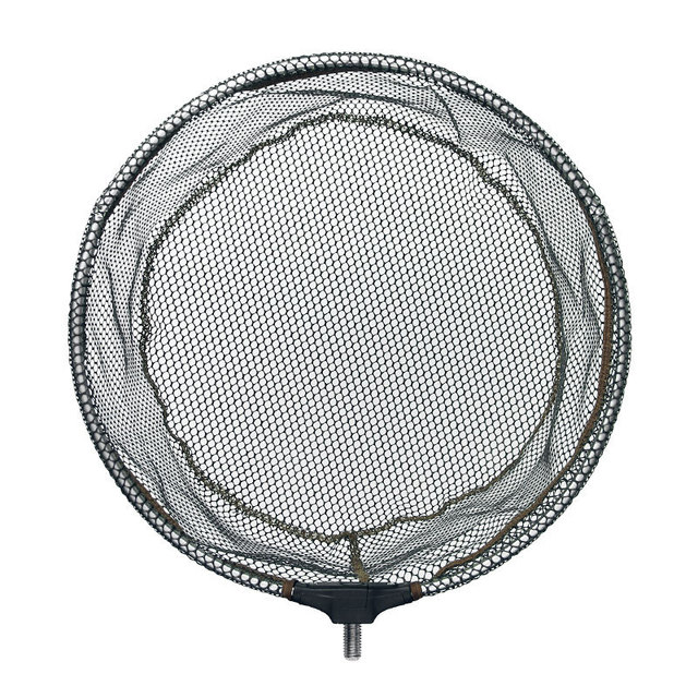 Best Hand Fishing Net Head Aluminum alloy 8mm Screw Folding Dip Fishing Accessories cb5feb1b7314637725a2e7: 35|40|45