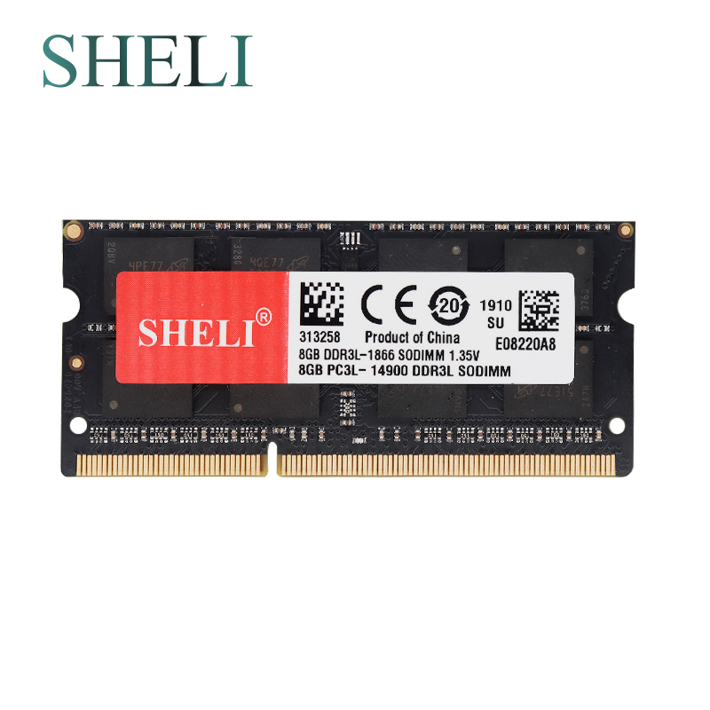 DDR3 PC3-14900 Crucial 8GB DDR3L-1866 SODIMM Memory Module for Mac CL=13