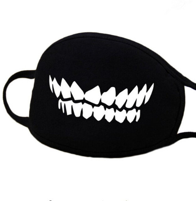 1PC Cotton Dustproof Mouth Face Mask Party Masks Anime Cartoon Lucky Bear Women Men Chidren Face Mouth Masks Gifts Funny Mask 3