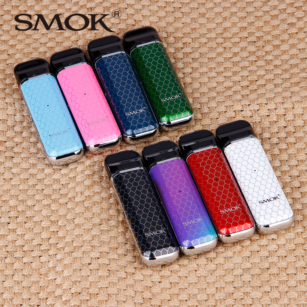 Original SMOK Novo Pod Starter Kit 450mAh With Air-driven Pod System Intelligent Battery Indicator Vs MINIFIT Kit/Stick Prince