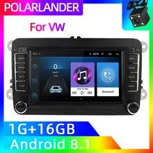 Golf 2 Din 7 дюймов gps навигация Wifi стерео радио для Bora VW Polo Volkswagen Passat B6 B7 Touran Android Авто MP5 плеер