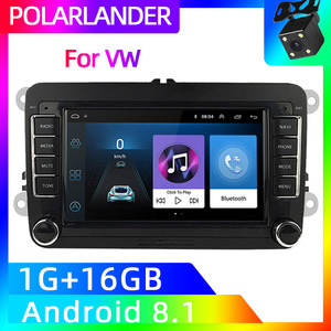 Golf 2 Din 7 inch GPS Navigation Wifi Car Stereo Radio For Bora VW Polo Volkswagen Passat B6 B7 Touran Android Auto MP5 Player(China)