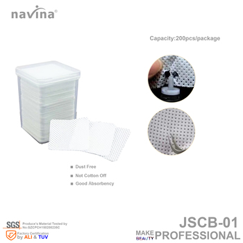 navina JSCB-01 Cleaning Nonwoven, 200pcs/bottle,30bottles/lot, keep the glue flash and clean tweezers.