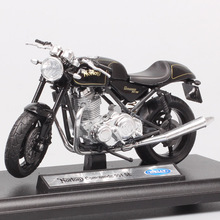 1:18 scale welly small retro norton Commando 961 SE Cafe Racer sport motorcycle diecast toy