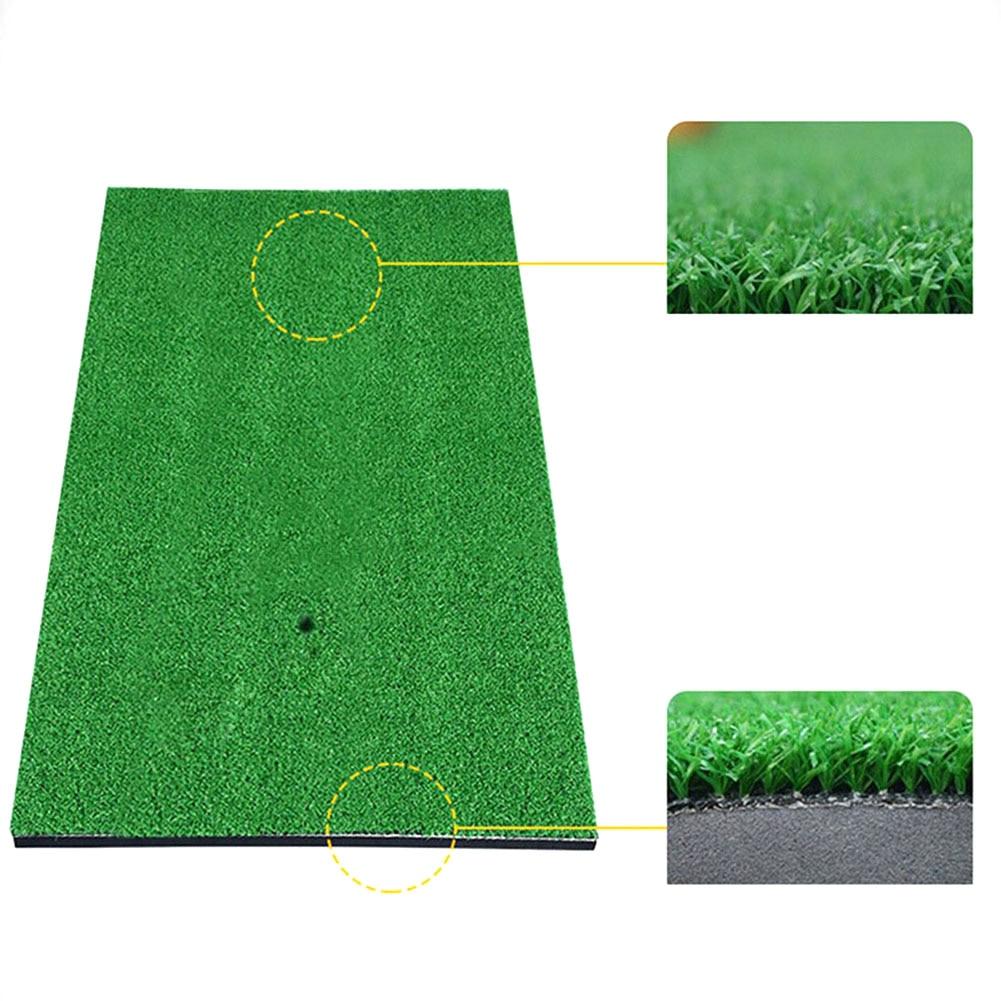 Backyard Golf Mat Golf Training Aids Outdoor/Indoor Hitting Pad Practice Grass Mat Game Golf Training Mat Grassroots Monden O9
