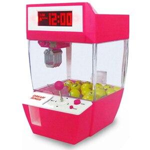 Image 5 - Lalka pazur maszyna Mini automat automat automat z cukierkami Grabber Arcade pulpit złapany zabawa muzyka śmieszne zabawki gadżety dla dzieci