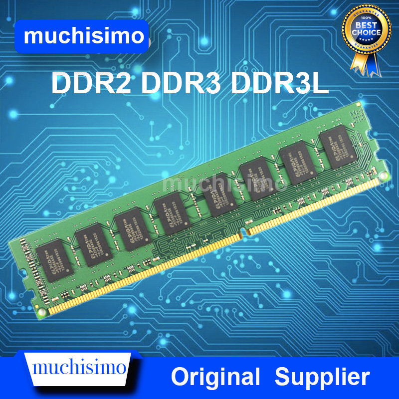 Mémoire RAM DDR3 DDR3L DDR2 4GB 8GB 2GB 800 1066 1333 1600MHz PC ordinateur de bureau Memoria 240pin nouveau DIMM système entièrement Compatible