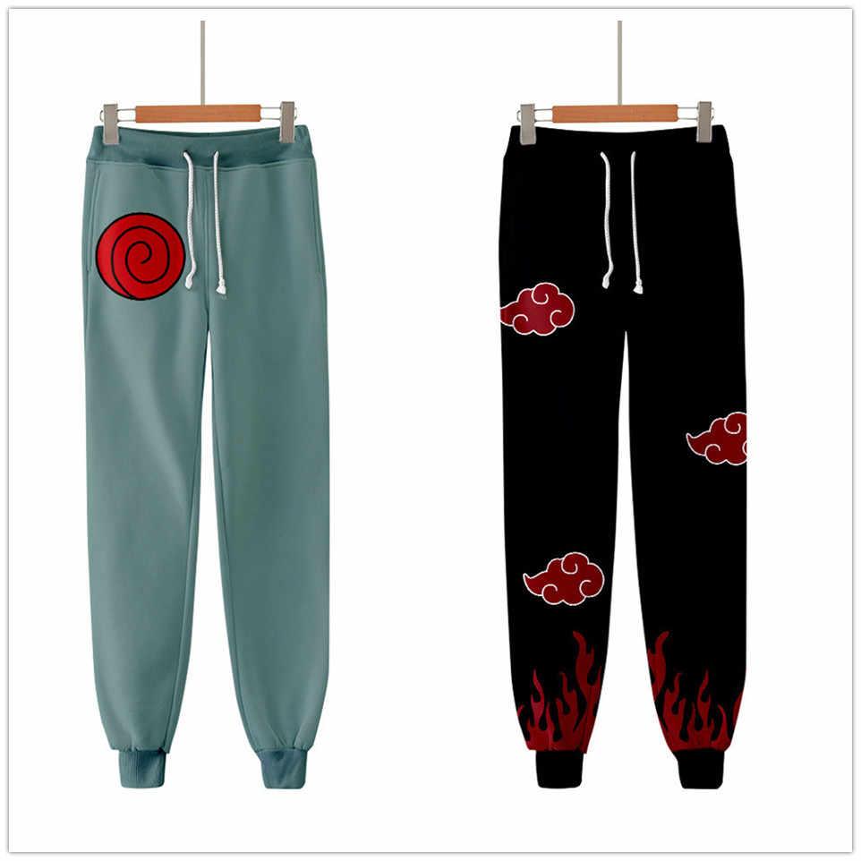 2020 Unisex Anime Naruto Pantalones De Sudor 3d Joggers Pantalones Hombres Mujeres Ropa Pantalon De Hip Hop Homme Pantalones De Chandal Pantalones Informales Aliexpress
