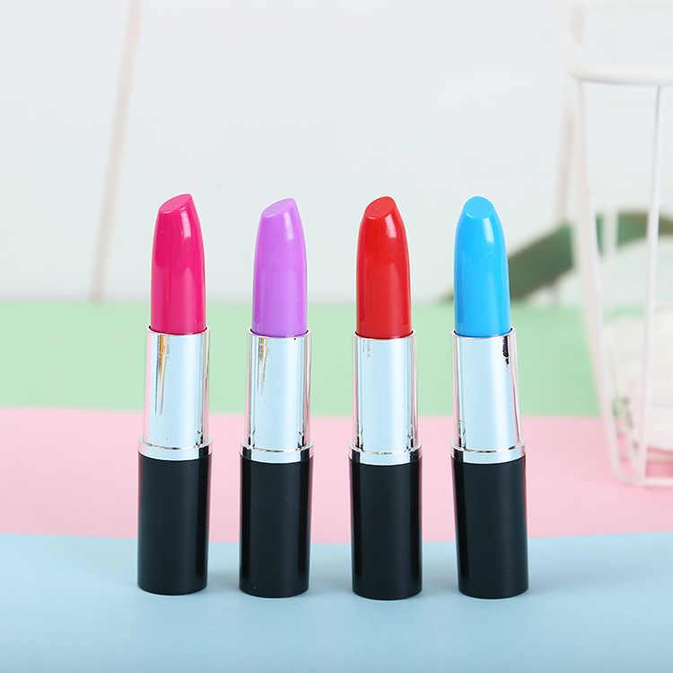 1 Pcs Lipstik Berwarna-warni Pena Stabilo Mini Marker Kawaii Stationery Bahan Escolar Menulis Perlengkapan Sekolah