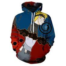 Naruto Anime Hoodies 3D Männer sudadera Sasuke Herbst Harajuku Kakashi 3D Cartoon Druck herren Pullover Oversize Sweatshirt Benutzerdefinierte