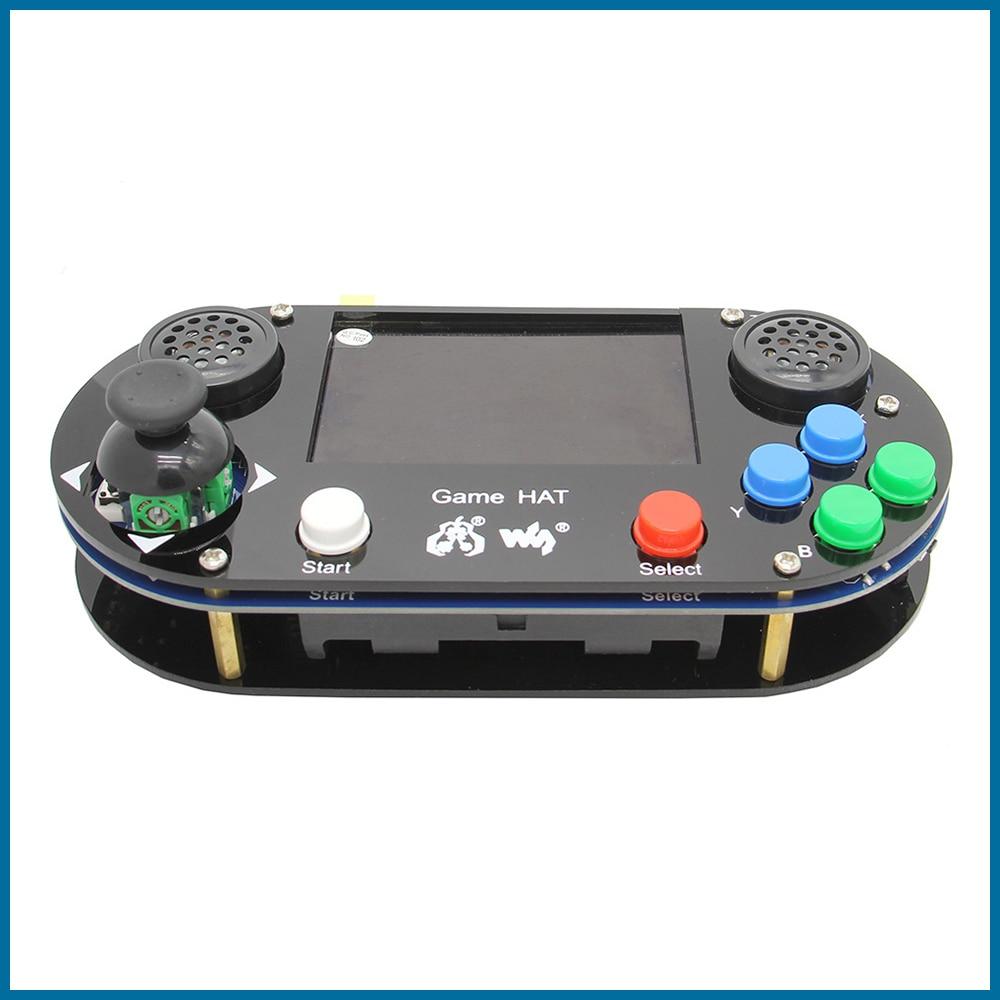 S Robot Raspberry Pi 4 / 3 B+Plus / 3B / Zero W RetroPie Game HAT Console Gamepad With 480 X 320 3.5 Inch IPS Screen RPI122