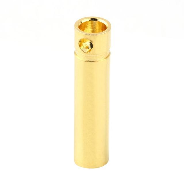 4.0mm Male&Femalel Banana gold Plug connectors For Battery ESC Motor Exquisitely Designed Durable Gorgeous 2