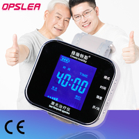 TV 650nm +5% Laser Therapy Wrist Diode LLLT for Diabetes Hypertension Treatment Watch Laser Sinusitis Therapeutic Apparatus New