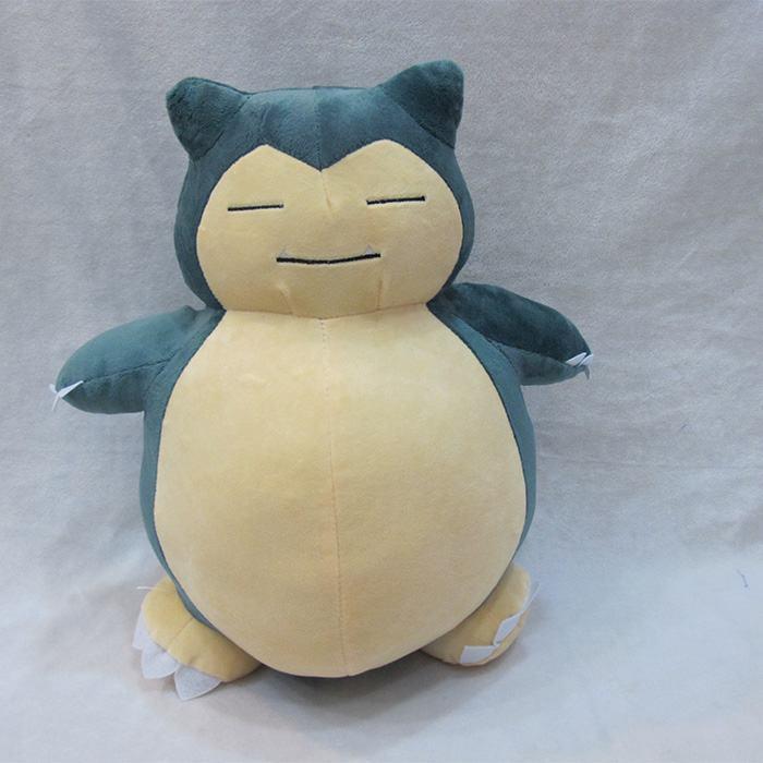 Pokemon pikachu Snorlax Fat Belly Plush