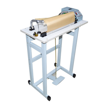 1000CM Sealer Heat Sealing Machine Foot Pedal Impulse Plastic Bag Sealer Shrinking Electric Beverage Packaging Use baterpak fkr 200a 300a 400a hand held impulse sealer ldpe plastic bag sealer kraft paper bag heat sealing machine