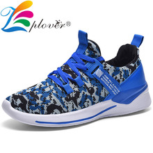 2019 New Casual Shoes Men Sneakers Comfortable Breathable Autumn Flying Weaving Mesh Lightweight Walking