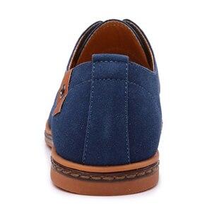 Image 5 - 2019 ブランド男性靴オックスフォードスエード革フォーマルな靴男性カジュアルクラシックスニーカー男性快適な靴 zapatos hombr