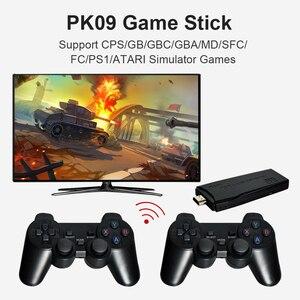 Image 3 - Powkiddy PK 09 Mini TV Console de Jeu Vidéo Intégré 3000/10000 Jeux Joueur Bâton Kit Soutien 1080P Compatibles HDMI Sortie