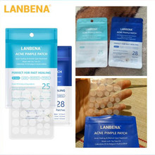 LANBENA Acne Mask Acne Pimple Patch 28pcs Invisible Acne Stickers Blemish Treatment Pimple Remover Tool Skin Care Shrink Pores