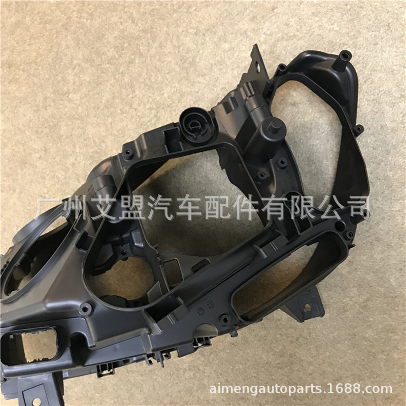 Fatto per BMW sette serie posteriore del faro shell 0915 BMW7 serie faro base F01F02 in plastica nera shell alloggiamento del faro - 4