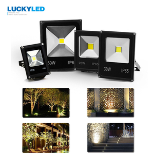 Image 5 - LUCKYLED LED Flood light 10W 20W 30W 50W AC220V Waterproof IP65 Spotlight Outdoor Garden lamp Floodlight lighting .