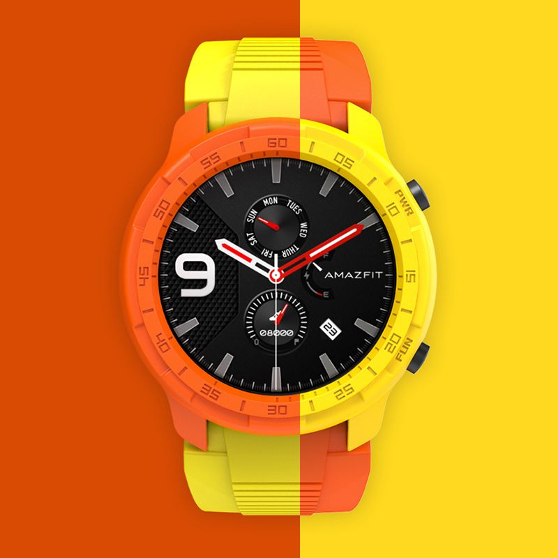 For Amazfit GTR 47mm Case Smart Watch Protector For Xiaomi Huami Smartwatch Cover Accessories