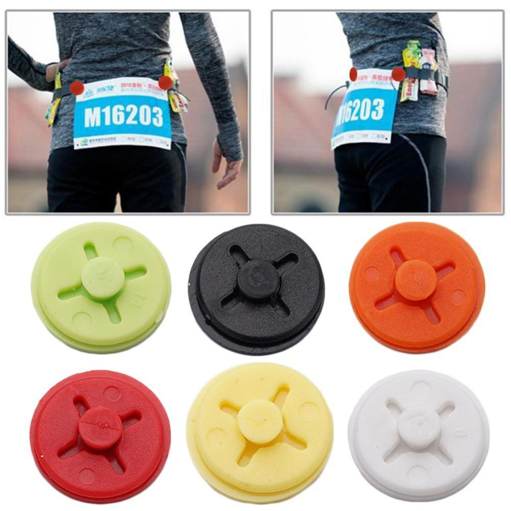 Triathlon Marathon Running Number Number Fixing Number Clip Bibs Running Trail Run Cloth Belt Buckle Cloth Bag Accessories