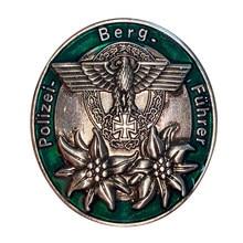 Немецкая полицейская горная медаль для второй мировой войны Редкие копии репродукции