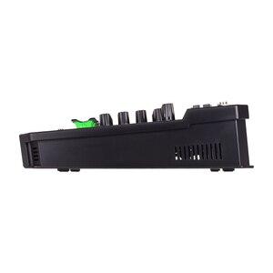 Image 4 - Muslady T6 tarjeta de sonido portátil de 6 canales, consola mezcladora de Audio con potencia Phantom de 48V integrada, compatible con conexión BT, DJ en vivo