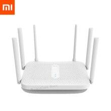 Двухдиапазонный гигабитный беспроводной маршрутизатор Xiaomi Redmi AC2100, Wi Fi ретранслятор с 6 антеннами с высоким коэффициентом усиления, более широкое покрытие, простая настройка