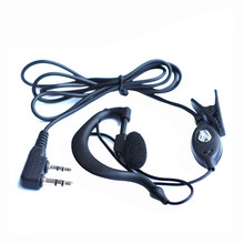 for Baofeng headphones UV-5r Earpiece for Radio Walkie Talkie Headset Mic Microphone for 888S uv5r UV-5RA UV-5RE UV82(China)