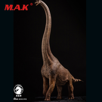 New 1/35 Scale Long-necked Dragon Animal Display Model Brachiosaurus Dinosaur Statue Museum Collection Decoration Fans Gift
