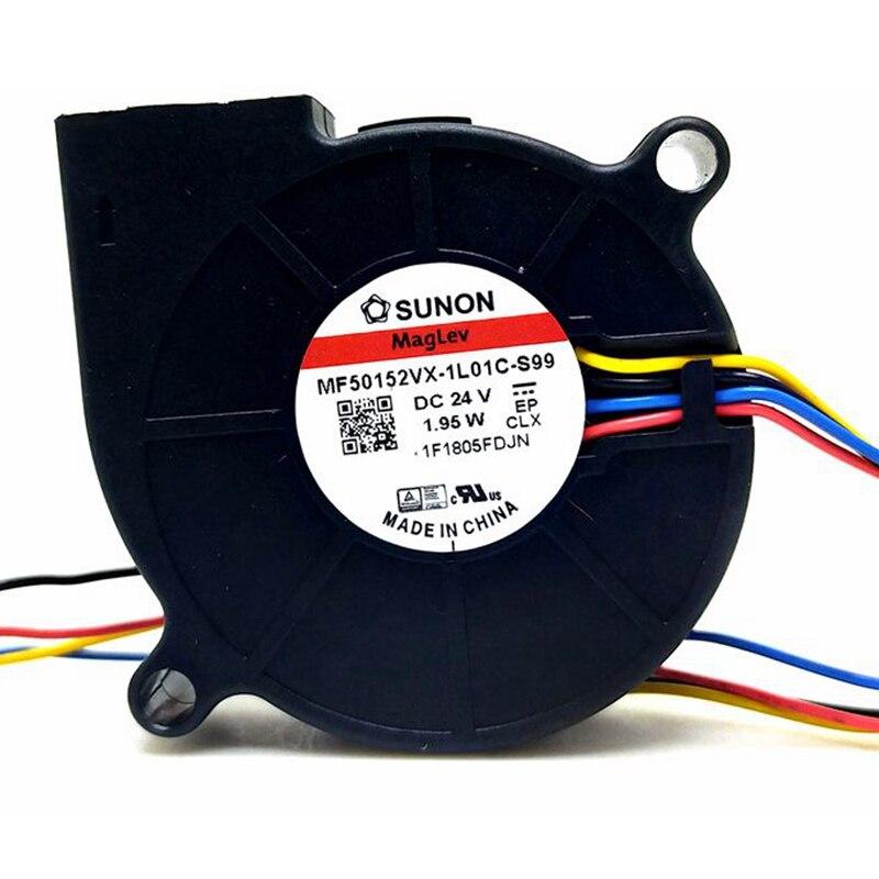 for SUNON 5015 24V 1.92W ME50152V2-000C-A99 DC Fan
