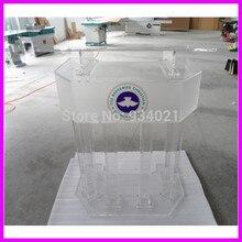 Прозрачный большой плексиглас Pudium/акриловый высококачественный плексиглас