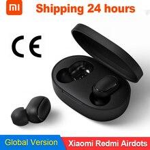 Оригинальные беспроводные наушники Xiaomi Redmi Airdots TWS, наушники с громкой связью, голосовое управление, Bluetooth 5,0, шумоподавление, управление AI