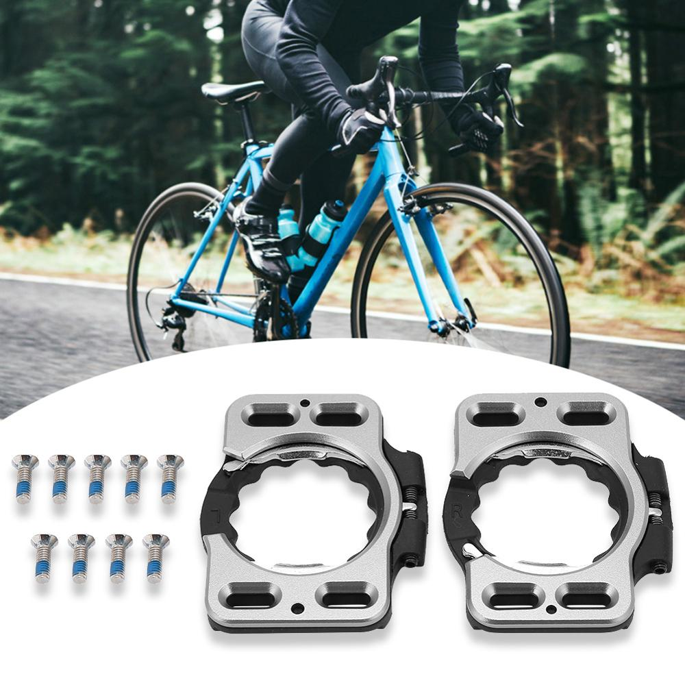 1 Pair Quick Release Bike Shoes Cleat Cover Adapter Converter For Speedplay Zero