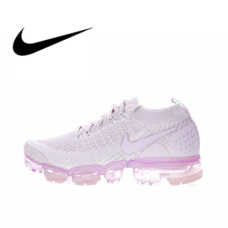 Original Authentic NIKE AIR VAPORMAX FLYKNIT 2 Women's Running Shoes Cozy Sport Outdoor Mesh Breathable Sneakers 2019 New 942843