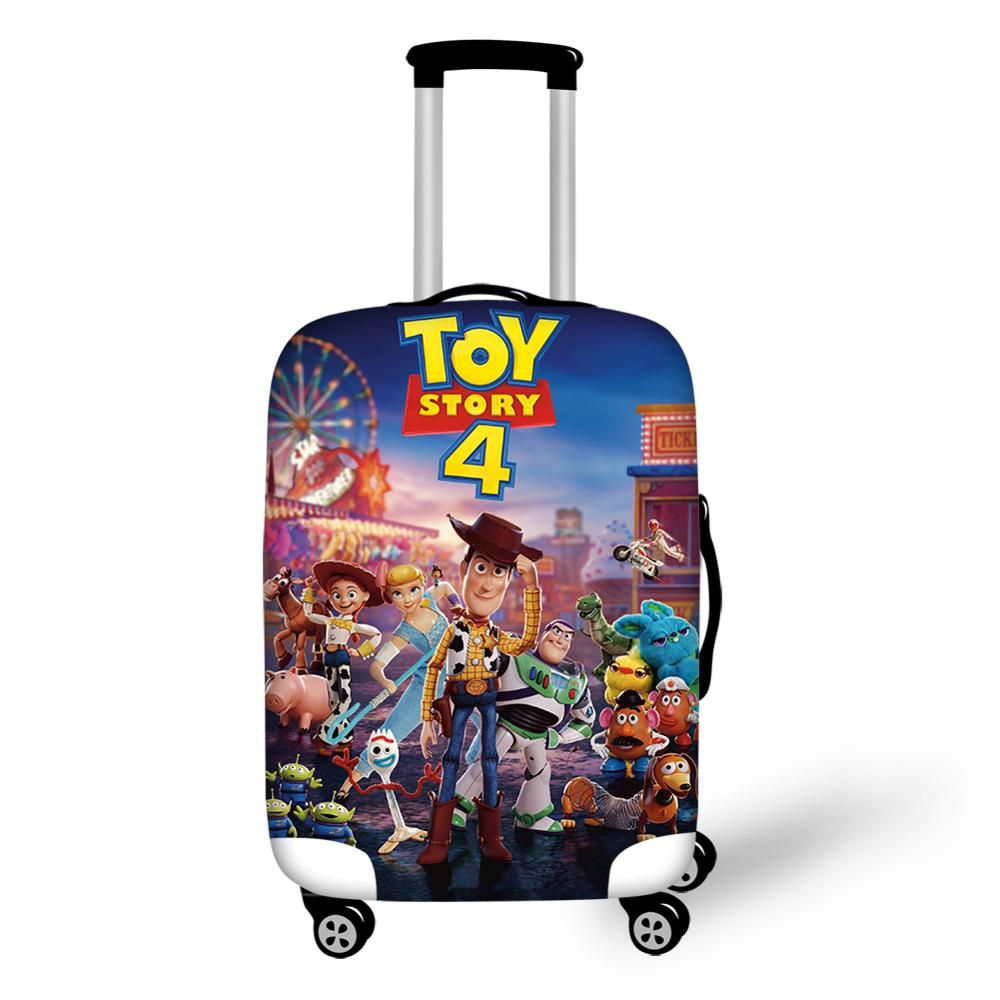 HaoYun Travel Luggage Cover Toy Story Pattern Suitcase Cover Cartoon Anime Designer Elastic Dust-proof &Water-proof Protector