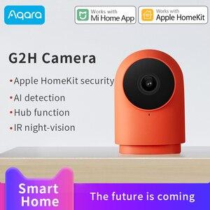 Умная камера Aqara G2H, 1080P, веб-камера, IP, поддержка Apple HomeKit, xiaomi mi Home App Hub, ИК-камера ночного видения, AI функция обнаружения концентратора