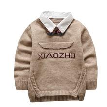 Детский свитер на осень и зиму, горячая Распродажа, специальное предложение, Детский свитер