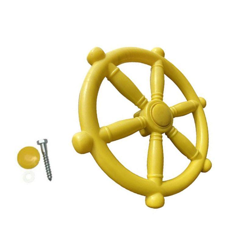 Children Toy Boat Steering Wheel Kindergarten Playground Swing Accessories