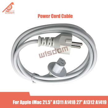 Full New US EU UK Version Power Cord Cable for Apple iMac 21.5