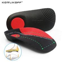 KOTLIKOFF Acessórios Sapatos Ortopédicos Arch Suporte Palmilhas duro 3.5 centímetros Metade Palmilhas Para Sapatos de salto Único ponto Fixo Almofada Ortopédica