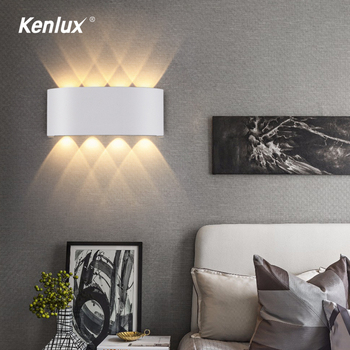 Outdoor Indoor Wall Lamp Nordic Led Aluminum IP65 Up Down Wall Lights Modern For Home Stairs Bedroom Bathroom Beside Lighting цена 2017