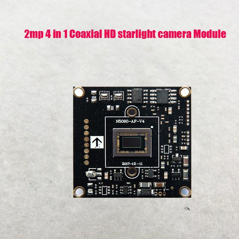 DIY, función de luz de estrellas de 2mp AHD TVI CVI CVBS 4 en 1, módulo de cámara SONY IMX327 CMOS HD WDR, soporta control de cable OSD Cámara de 8MP CCTV, probador de vídeo ahd ip, cámara de vídeo, mini Monitor ahd 4 en 1 con VGA HDMI cámara de seguridad de entrada