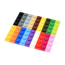 3710 30pcs/lot 1X4 Building Block Part DIY Toy For Kids Multicolor Creative B581