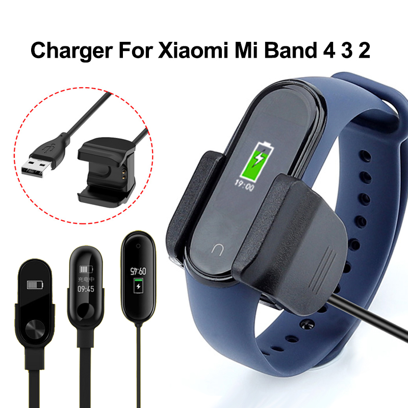 Charger For Mi Band 4 3 2 Charger Cable Charger Smart Bracelet MiBand 4 3 2 USB Charging Cable