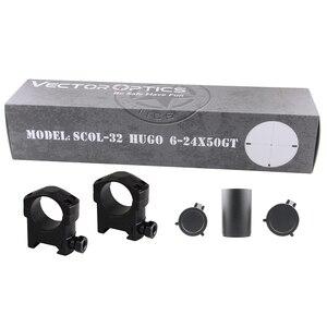 Image 5 - Vector Optics Hugo 6 24x50 GT 1 Inch Riflescope Hunting Rifle Scopes Min 10Y Illuminated Turret Lock Side Focus .223 .308win