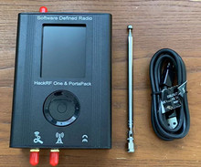 New PortaPack Porta Pack + HackRF One SDR + Case +Antenna 0.5PPM TXCO GPS Simulator
